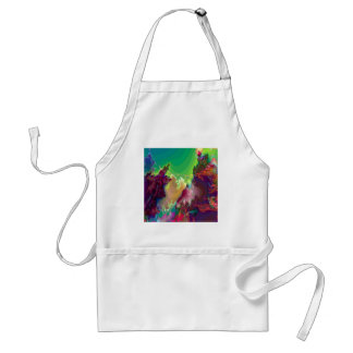 Abstract Colors Star Nurseries Aprons