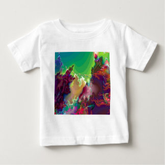 Abstract Colors Star Nurseries Baby T-Shirt