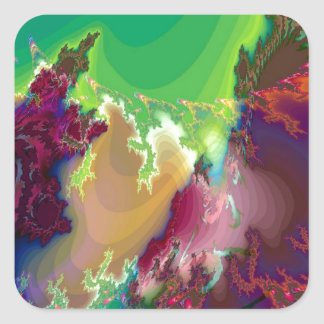 Abstract Colors Star Nurseries Stickers