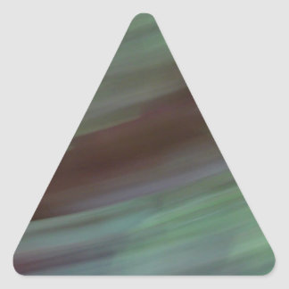 Abstract colors triangle sticker
