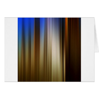 Abstract Colors Stripey Dark Light Card