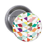 Abstract Colors Tapestry 2 Inch Round Button