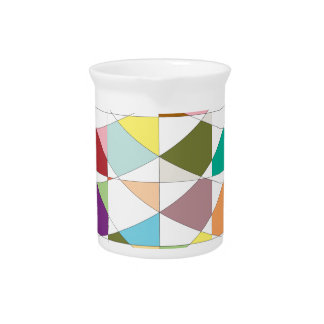 Abstract Colors Tapestry Beverage Pitchers