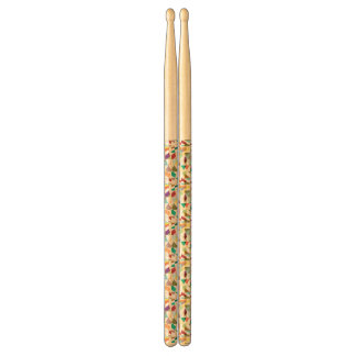 Abstract Colors Tapestry Drumsticks