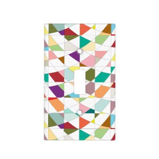 Abstract Colors Tapestry Light Switch Cover