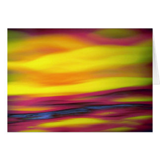 Abstract colors texture card