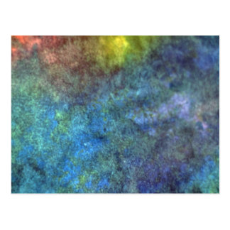 Abstract colors texture postcard