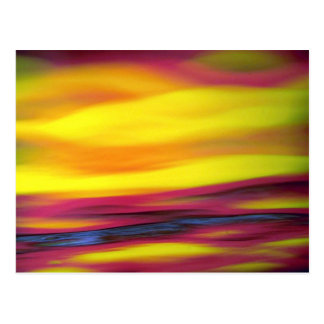 Abstract colors texture postcards
