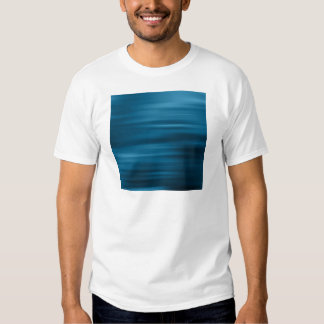 Abstract Colors Whizzing Blue Past T Shirts