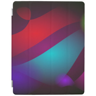 Abstract Colors with Black Background