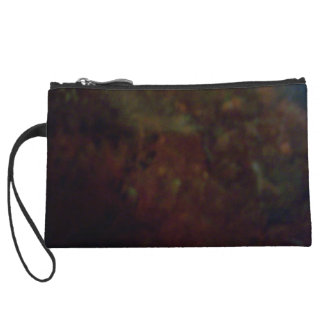 Abstract Colors Wristlet Wallet