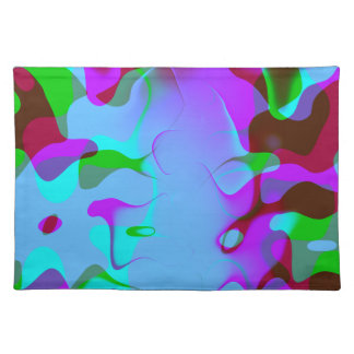 Abstract Colorsplash Placemat