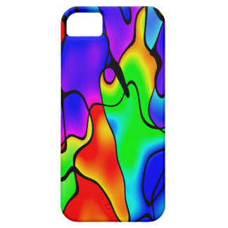 Abstract colour iPhone 5 cases