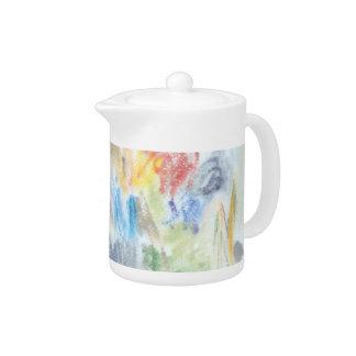 Abstract Colour II Teapot