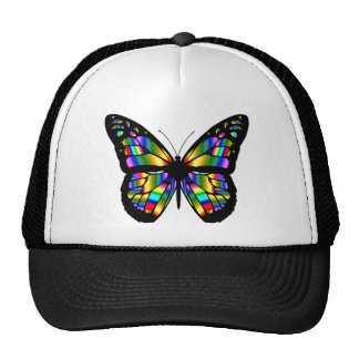 Abstract Coloured Butterfly Trucker Hat