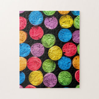 Abstract Colourful Chalk Puzzle