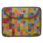 Abstract Colourful Mosaic MacBook Pro Sleeve
