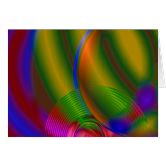 Abstract Compact Disc Card