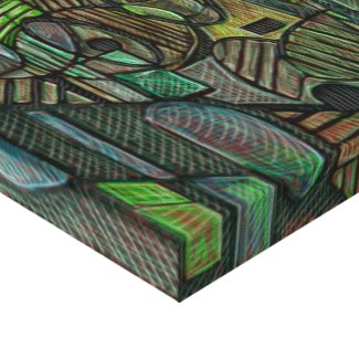 Abstract Composition 26 July 2014 Gallery Wrap Canvas