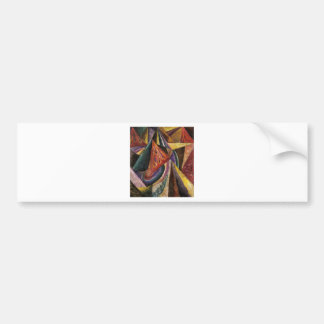 Abstract Composition by Oleksandr Bogomazov Bumper Sticker