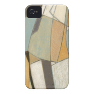Abstract Composition with Muted Colors iPhone 4 Cases