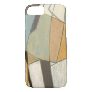 Abstract Composition with Muted Colors iPhone 7 Case
