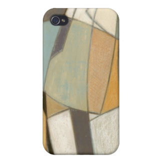 Abstract Composition with Muted Colors Cover For iPhone 4