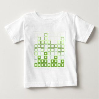 Abstract composition with squares baby T-Shirt
