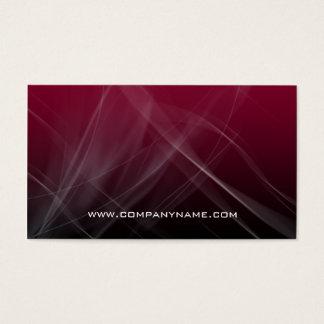 Abstract Computer Business Card Burgundy Hi-Tech