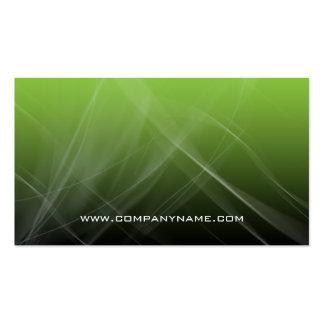 Abstract Computer Business Card Green Hi-Tech