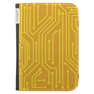 Abstract computer equipment kindle 3 cover