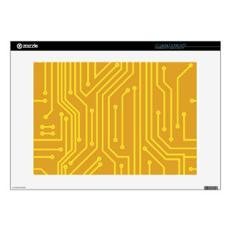 """Abstract computer equipment decals for 15"""" laptops"""