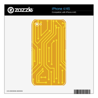 Abstract computer equipment iPhone 4 skins