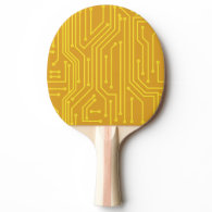Abstract computer equipment Ping-Pong paddle