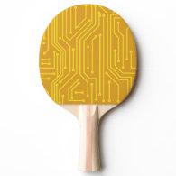 Abstract computer equipment Ping-Pong paddle