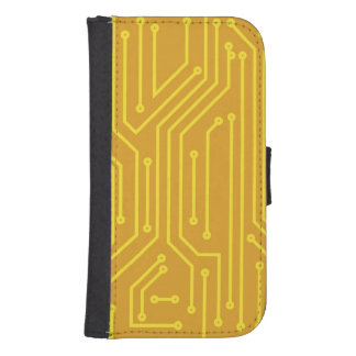 Abstract computer equipment phone wallet cases