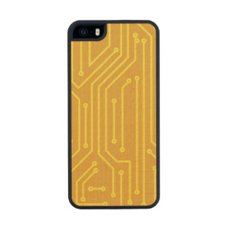 Abstract computer equipment carved® maple iPhone 5 case