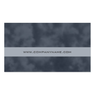 Abstract Computer Financial Business Card Gray