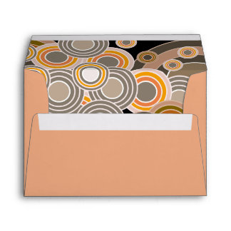 Abstract Concentric Circles Pattern Envelope