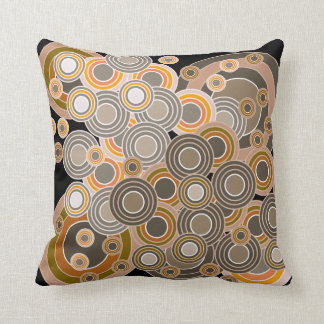 Abstract Concentric Circles Pattern Pillows