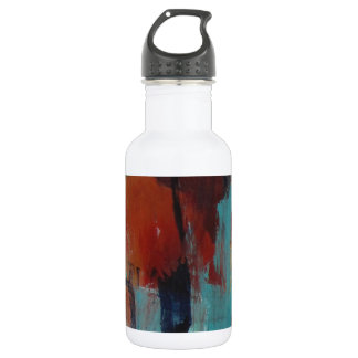 Abstract contemporary design water bottle