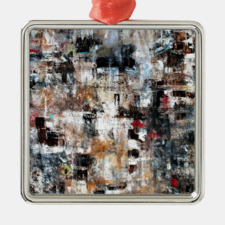 ABSTRACT CONTEMPORARY MODERN ART 3 METAL ORNAMENT