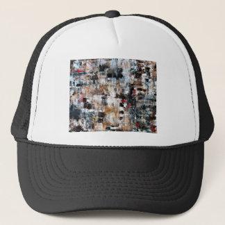 ABSTRACT CONTEMPORARY MODERN ART 3 TRUCKER HAT