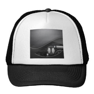 Abstract Cool Advanced Technology Trucker Hat