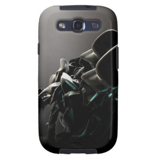 Abstract Cool Black Charms Samsung Galaxy S3 Cover