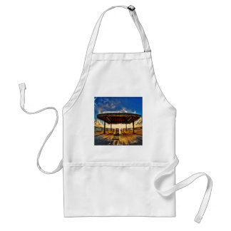Abstract Cool Boardwalk Exposure Adult Apron