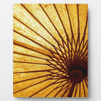Abstract Cool Fan Umberella Plaque