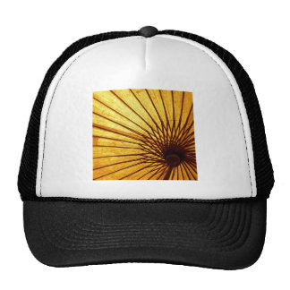 Abstract Cool Fan Umberella Trucker Hat