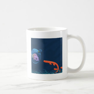 Abstract Cool Fish Bags Mug