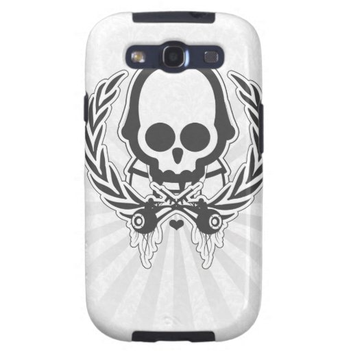 Abstract Cool Gun Rush Soldier Galaxy S3 Case